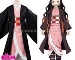Nezuko, kimetsu no yaiba, cosplay en alquiler, demon slayer, disfraces en alquiler lima, halloween, cosplay lima