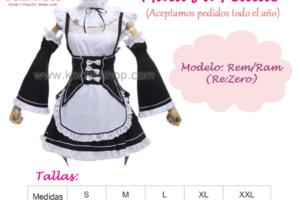 maid a pedido, rem cosplay