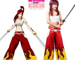 cosplay en alquiler, erza cosplay, cosplay lima, cosplay peru, fairy tail cosplay, halloween, anime halloween, alquiler de disfraz