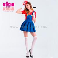 cosplay en alquiler, mario bross girl, cosplay lima, cosplay peru, traje disfraz halloween, halloween, alquiler de disfraz, chica mario bross