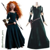princesas, merida cosplay, trajes en alquiler, halloween disfraces peru, disfraz princesa peru,